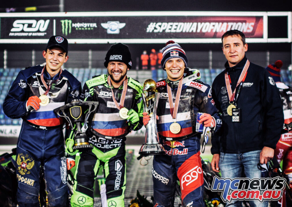 Emil Sayfutdinov wins 2020 Speedway of Nations