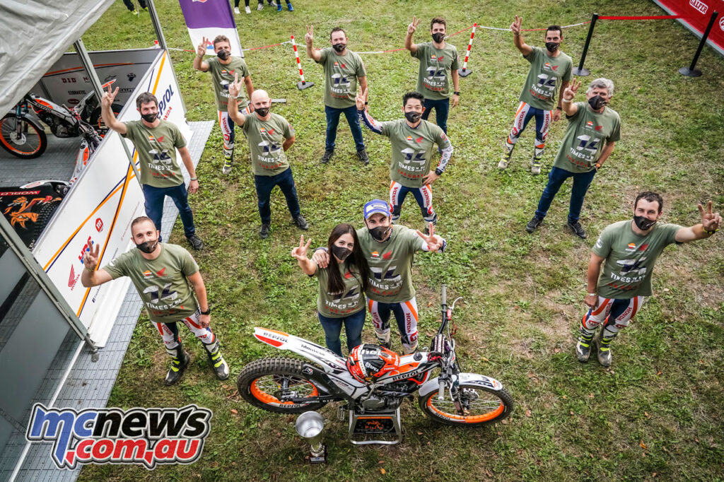 Toni Bou claims another TrialGP championship title