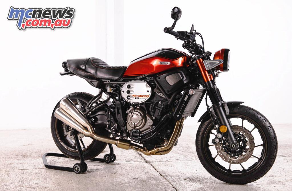 XSR700 'RD250 Tribute'