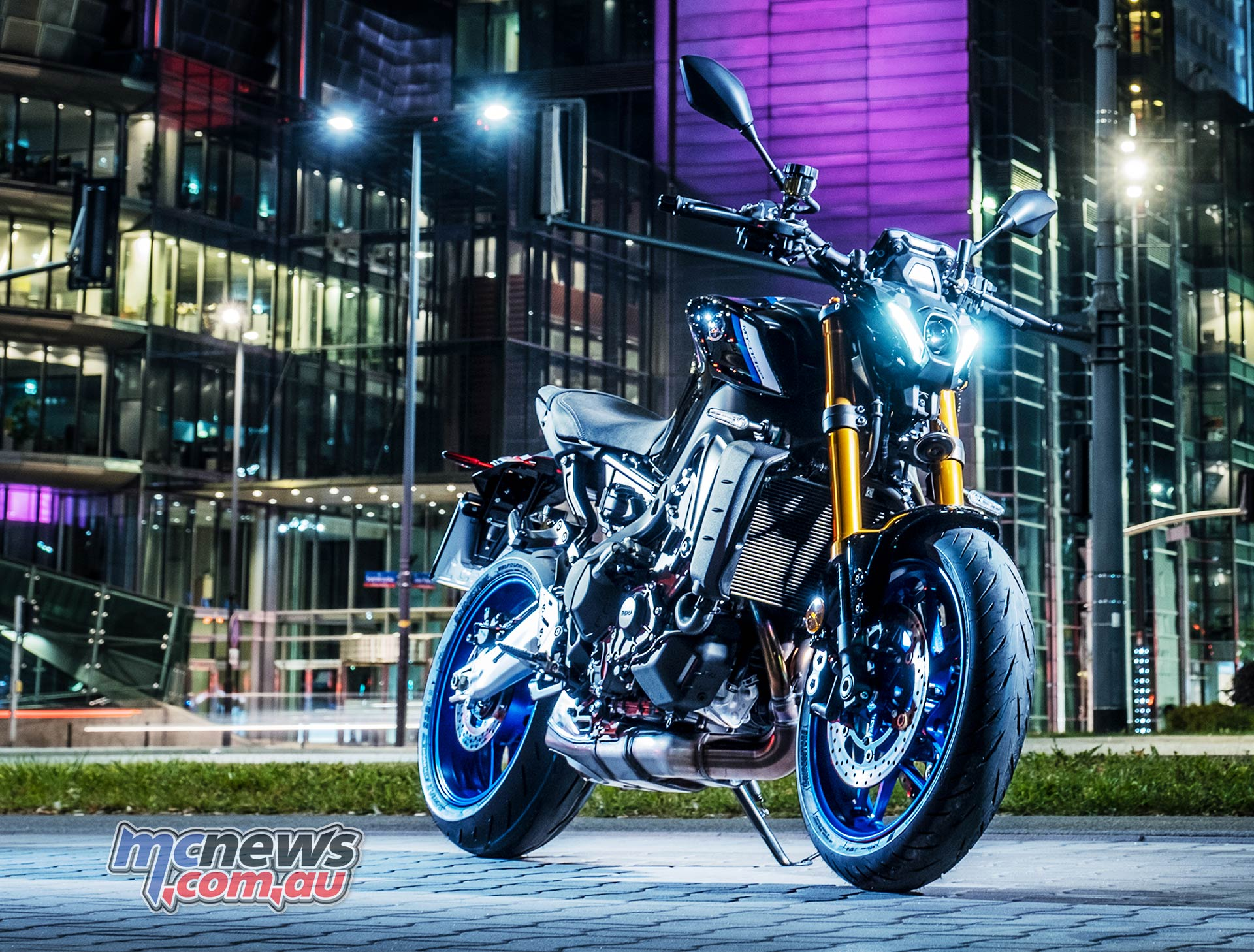 New 2021 Yamaha MT-09 Storm Fluo | Motorcycles in