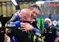 Valentino Rossi bids farewell to the Yamaha Factory Racing team
