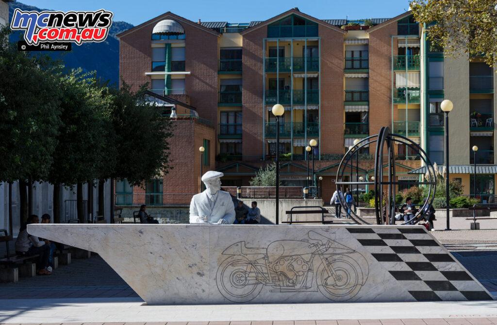 The Moto Guzzi Museum in Mandello del Lario