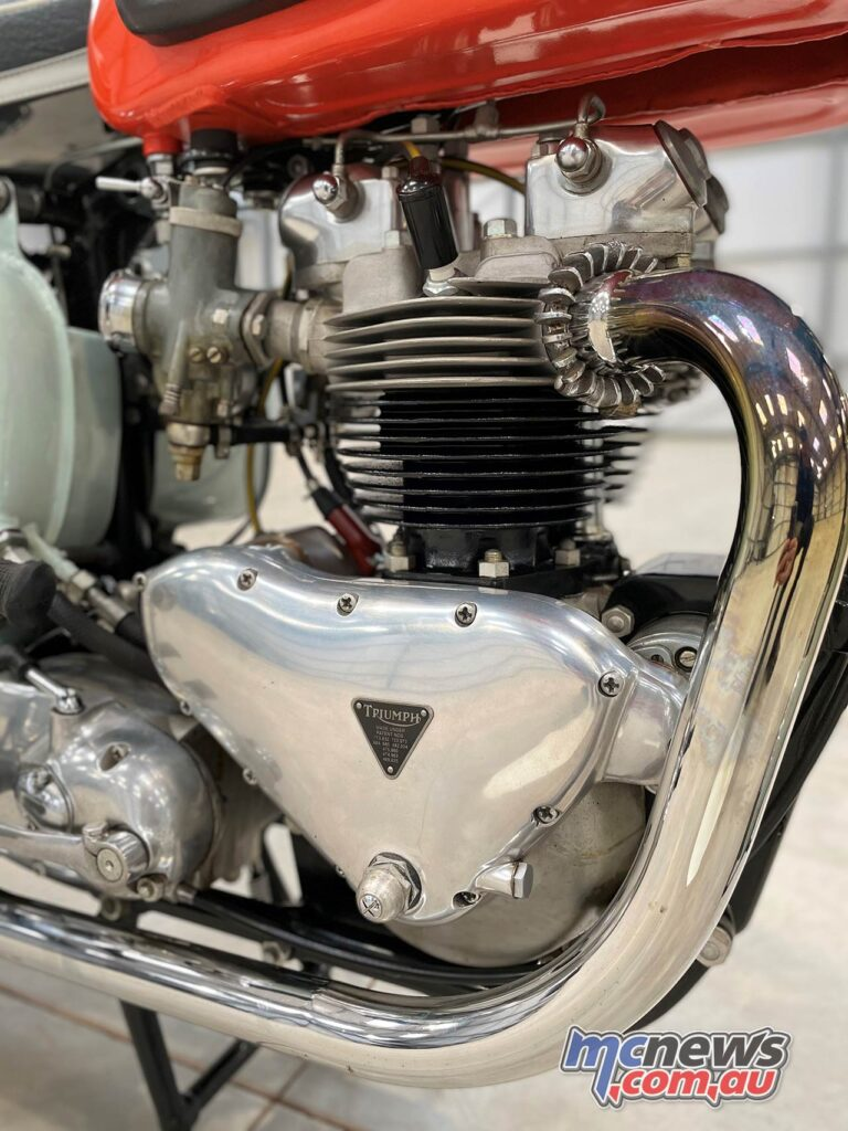 The 649 cc parallel twin made 46 horsepower at 6700 rpm, 51 Nm at 5500 rpm