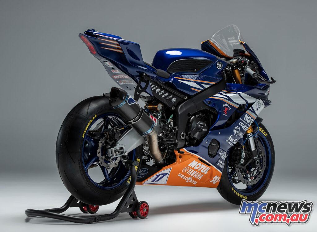 Broc Pearson's 600cc Supersport YZF-R6
