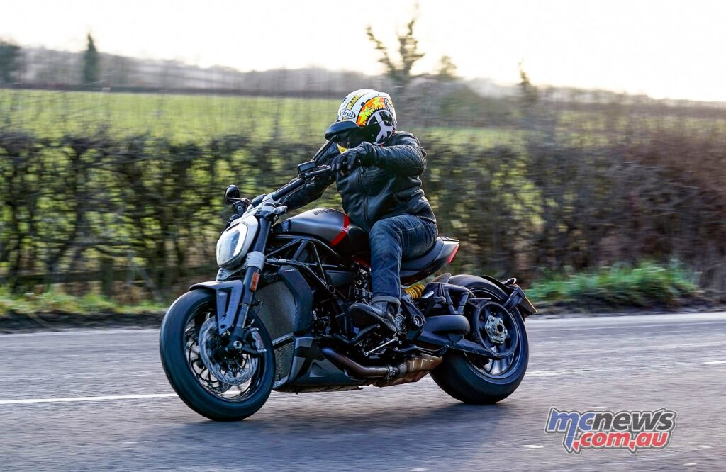 Urban mode on the XDiavel offers reduced power and high levels of rider aid intervention