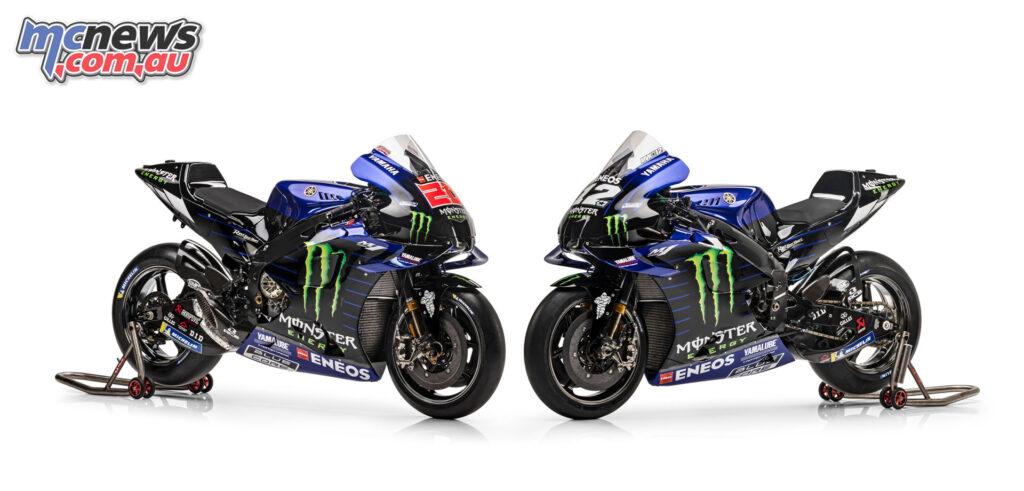Maverick Vinales, Fabio Quartararo - 2021 Monster Energy Yamaha MotoGP Team