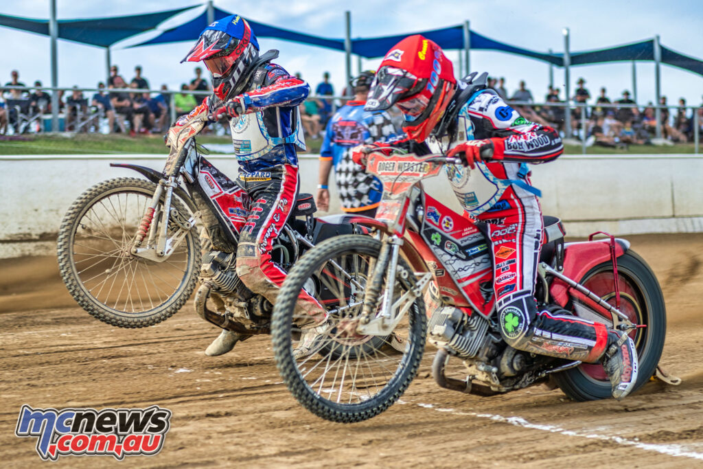 2021 North Brisbane Speedway Masters - Jacob Hook & Connor Bailey