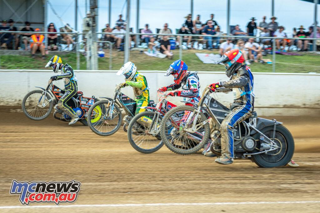 2021 North Brisbane Speedway Masters - Jake Allen, Rohan Tungate, Connor Bailey, Aaron Jackson