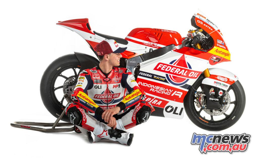 Fabio Di Giannantonio - Team Federal Oil Gresini Moto2