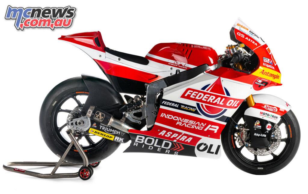 Team Federal Oil Gresini Moto2