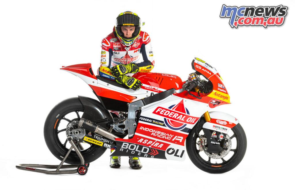 Nicolo Bulega - Team Federal Oil Gresini Moto2