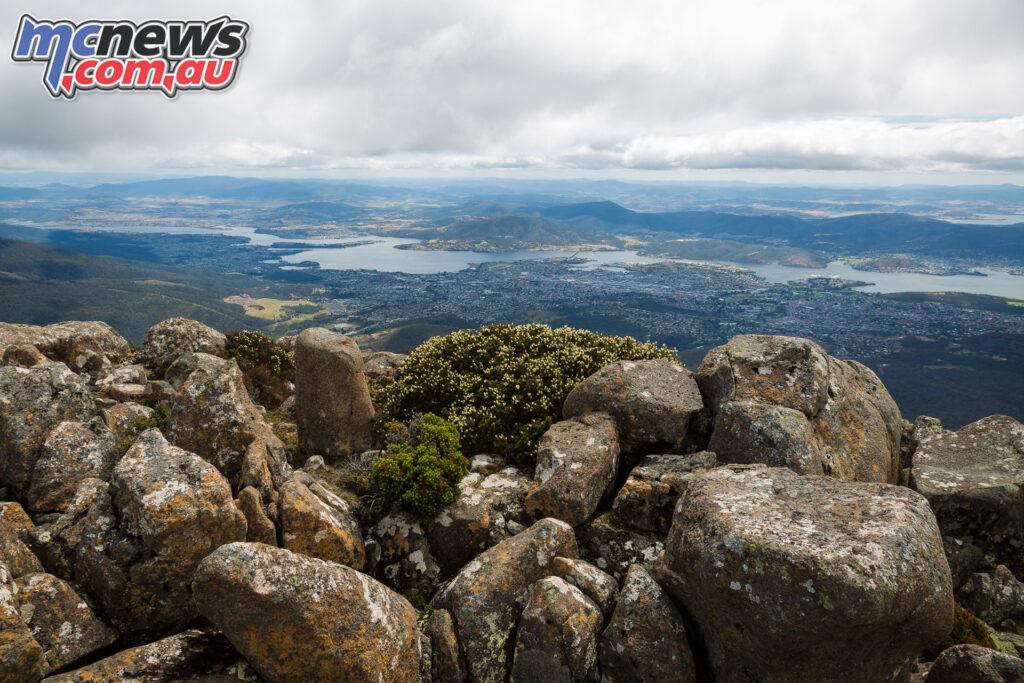 Mount Wellington view to Hobart