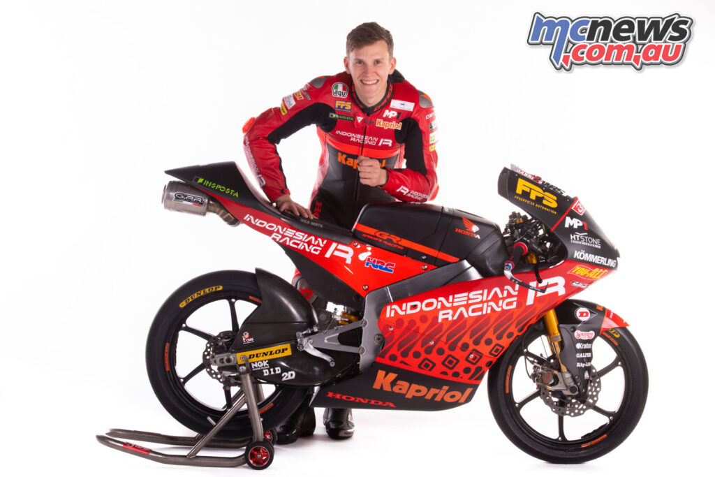 Gabriel Rodrigo - Indonesian Racing Team Gresini Moto3