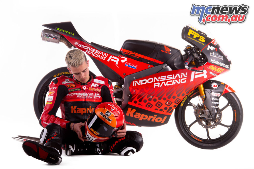 Jeremy Alcoba - Indonesian Racing Team Gresini Moto3