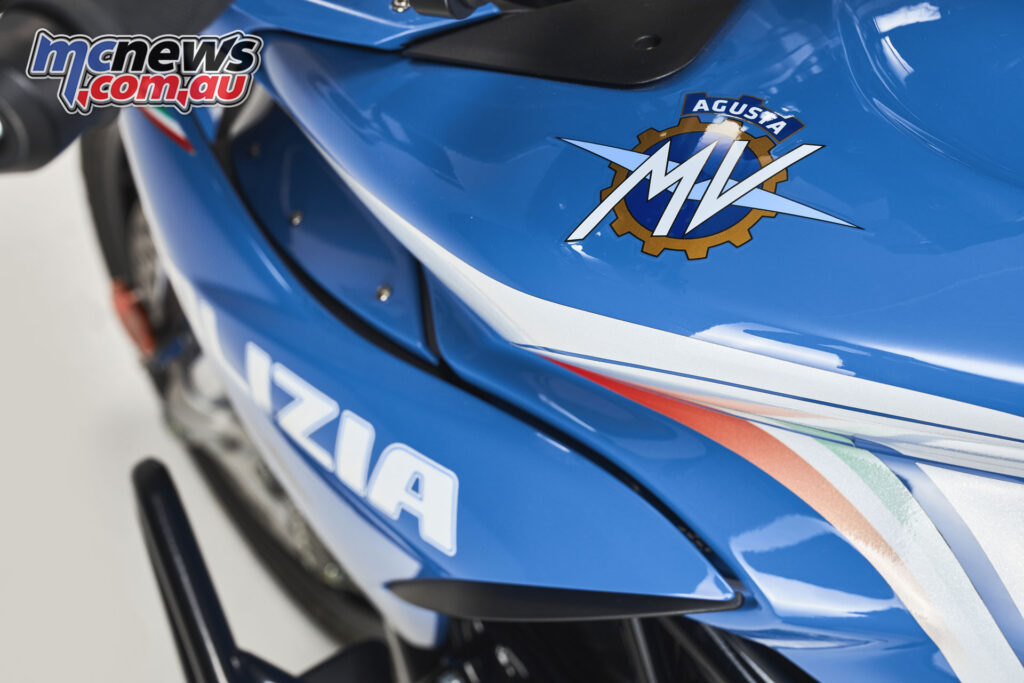 The four Turismo Veloce Lusso SCS Polizia models were donated by MV Agusta