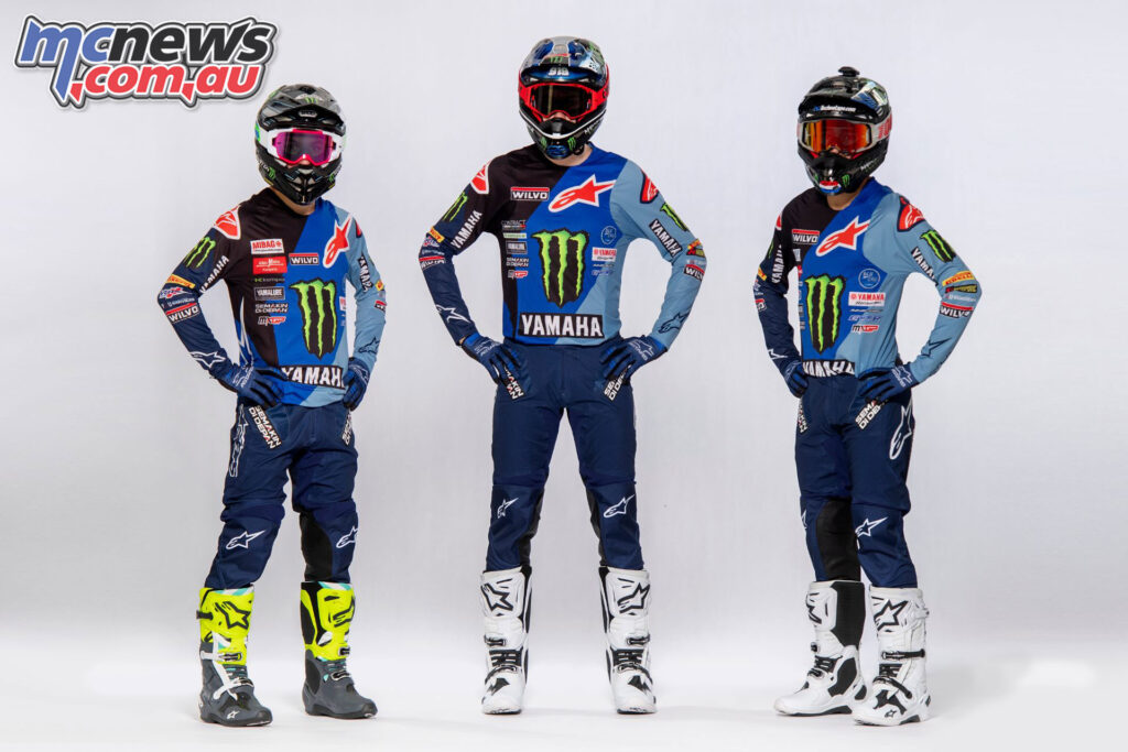 Monster Energy Yamaha Factory MXGP Team reveal 2021 colourway