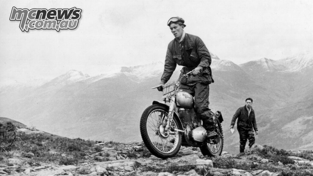 Johnny Brittain - 1952 Scottish Six Day Trials