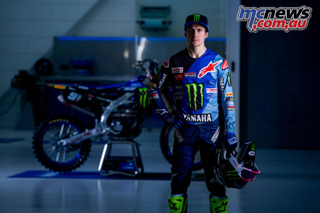 Jeremy Seewer - Monster Energy Yamaha Factory MXGP Team