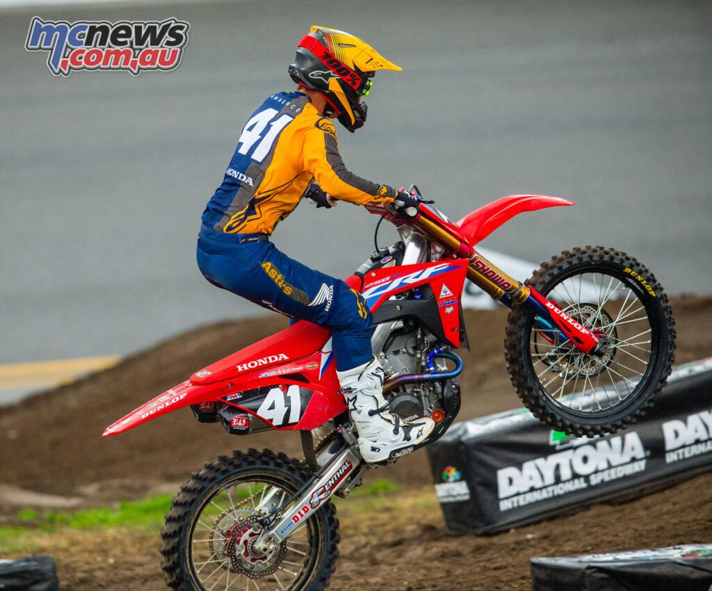 Hunter Lawrence - AMA SX Round 9 Daytona 2021