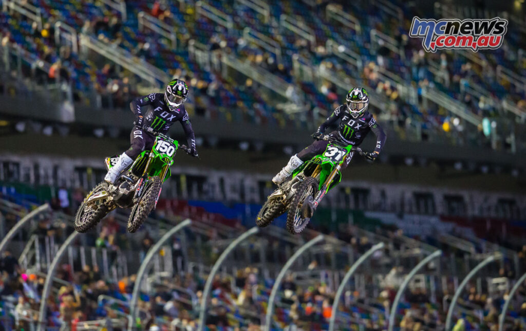 Cameron McAdoo dominated the 250SX Main Event