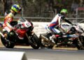 Herfoss and Epis clashed on track - Image by Optikal