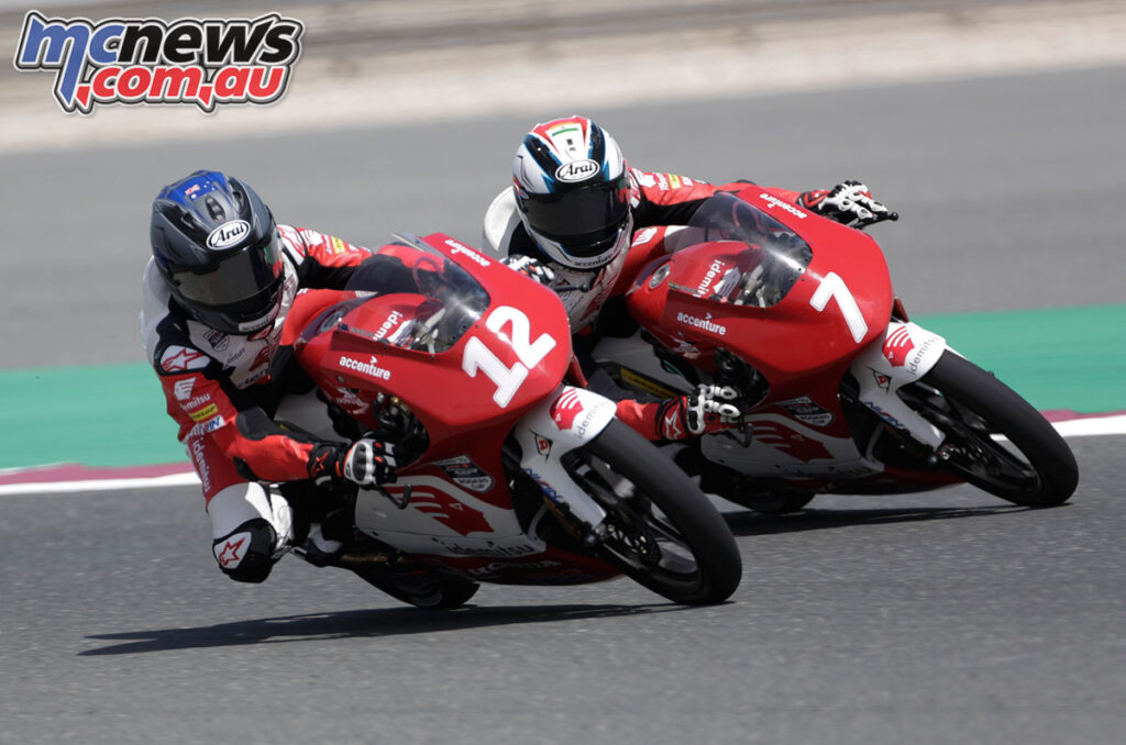 Marianos Nikolis - Asia Talent Cup 2021 - Losail Round 1