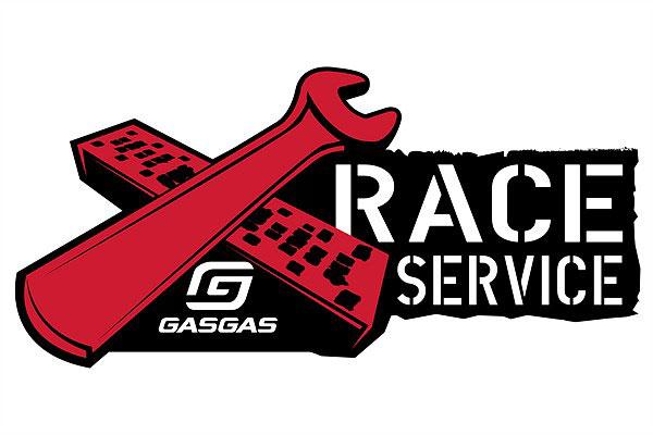 GasGas announce 2021 ISDE race service & bike rentals