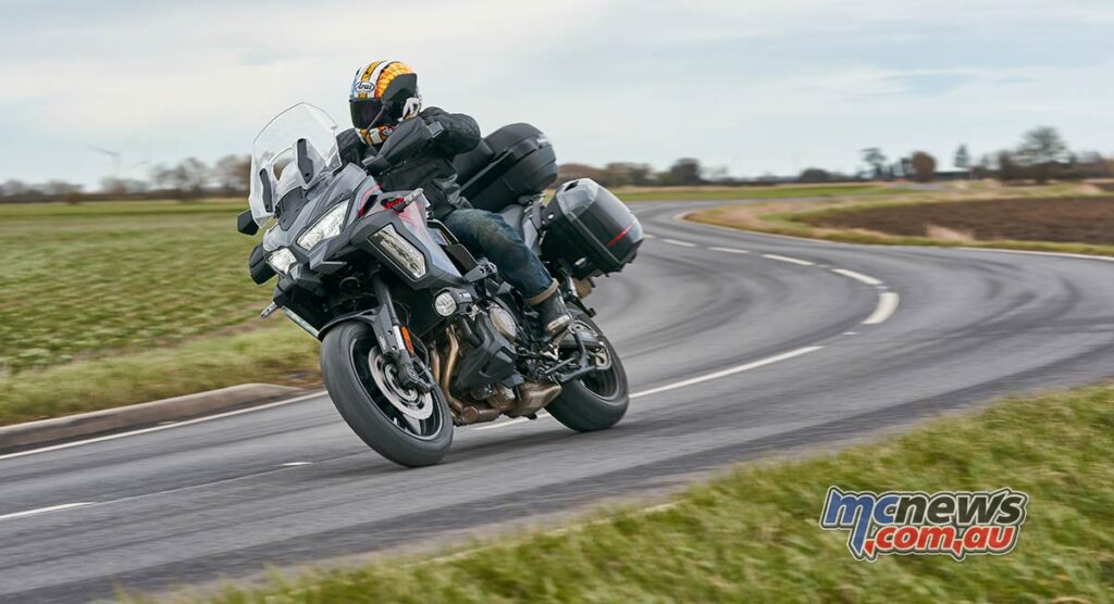 The Versys 1000 S offers brilliant touring comfort and is more road orientated