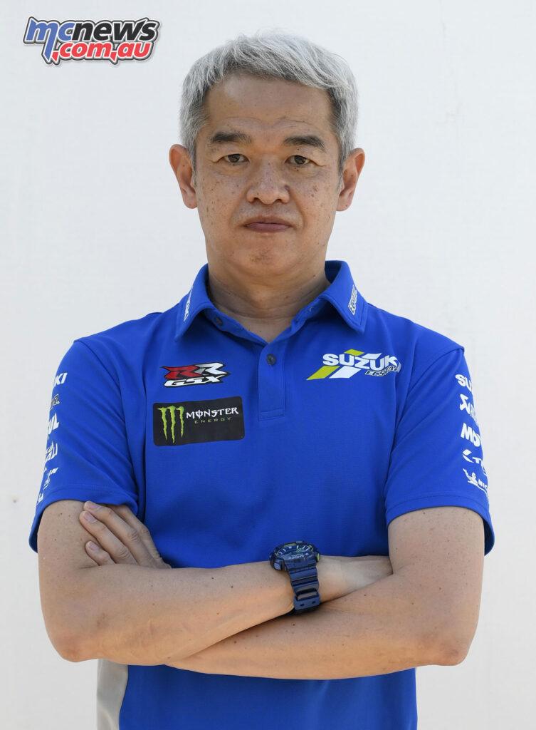 Shinichi Sahara - Project Leader and Team Director