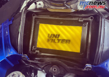 Unifilter reveal new air filter for BMW R 1200 GS and R 1250 GS models