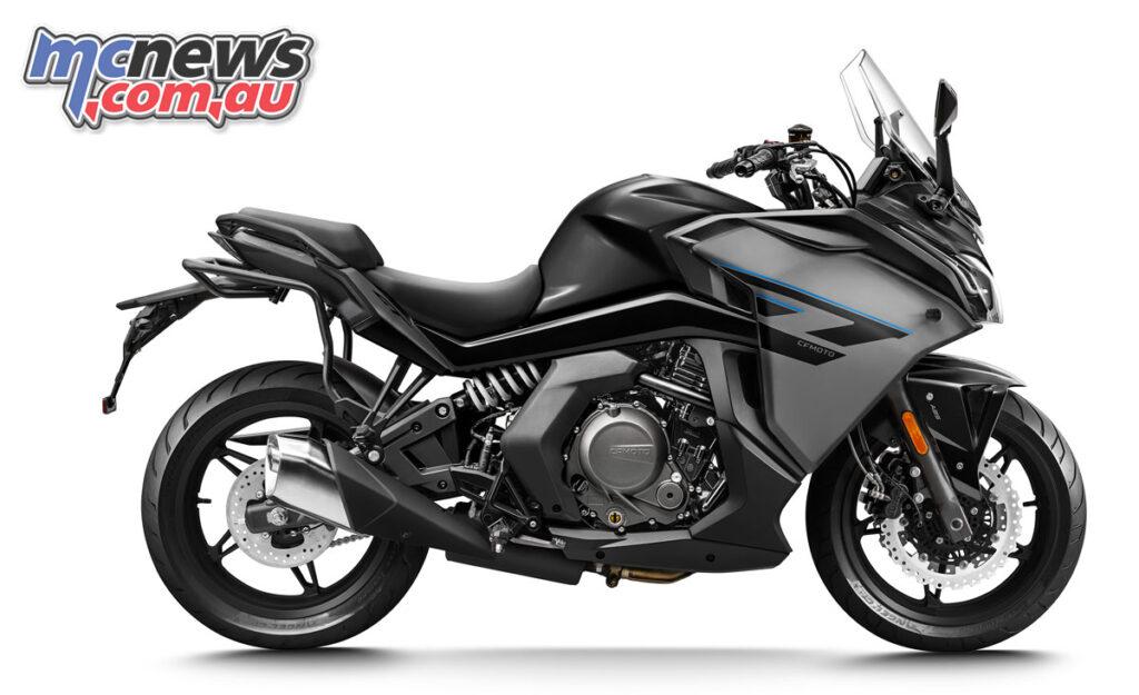 2021 CFMoto 650GT - Midnight Black