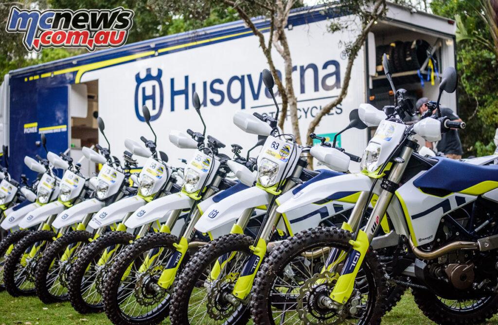 2021 Husqvarna 701 Enduro Trek