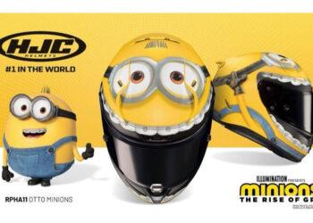 HJC's RPHA 11 Minion helmets arriving in Australia from July for $999.90
