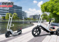 BMW unveil two new electric concepts, the Dynamic Cargo trike and Clever Commute scooter