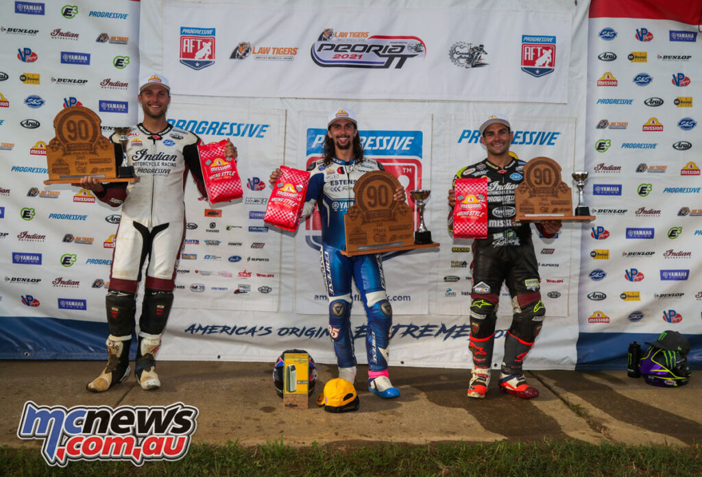 JD Beach topped the podium from Briar Bauman and Jared Mees