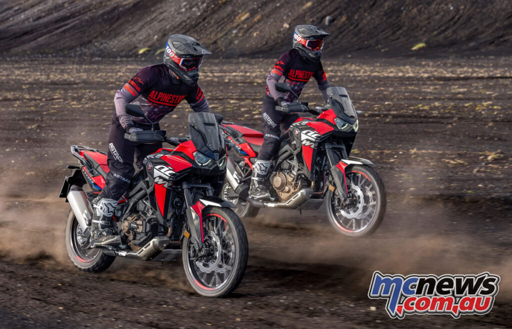 New look for Honda's 2022 Africa Twin!