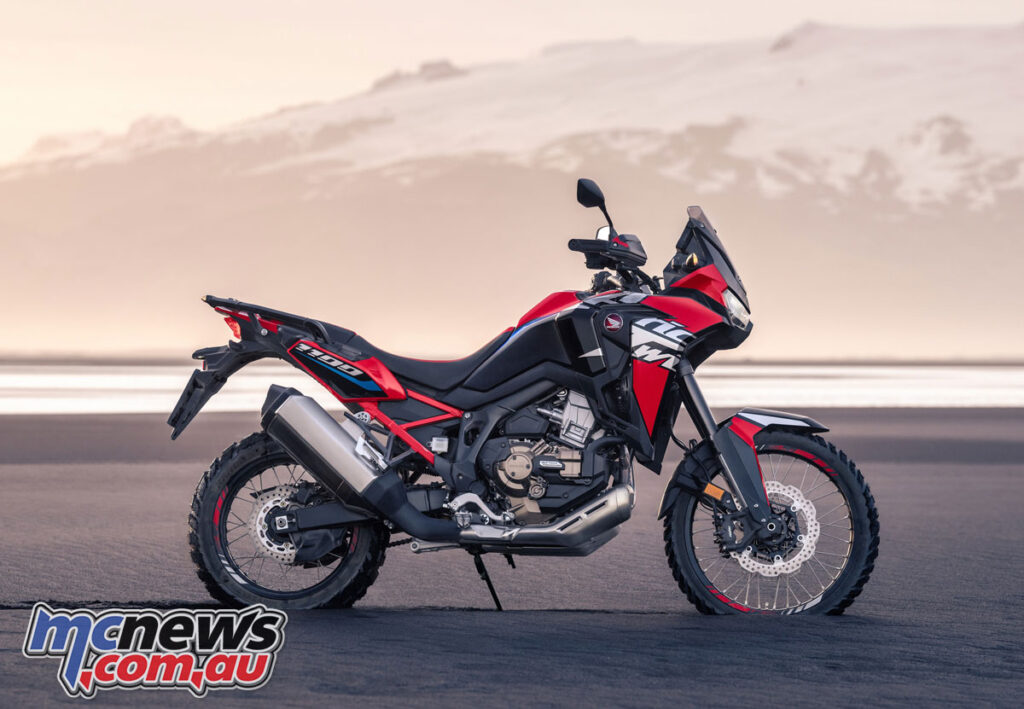 The Africa Twin will be available in four variants in 2022