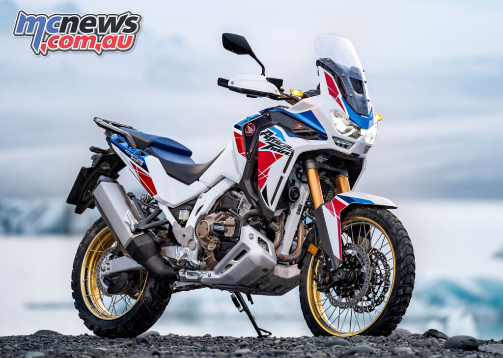 The Adventure Sport offers a larger 24.8 L fuel capacity