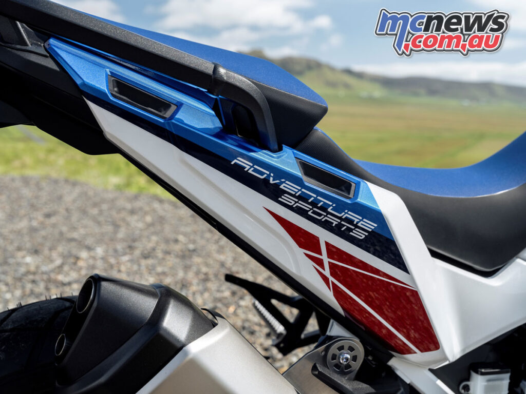 Showa EERA will also be standard on the top 'ES' spec Adventure Sports