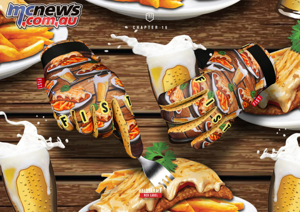 Fist 'Chapter' 16 Handwear - Pot & Parmy Jatz Richo