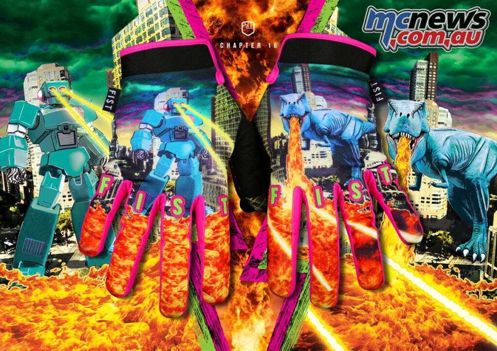 Fist 'Chapter' 16 Handwear - Robo VS Dino