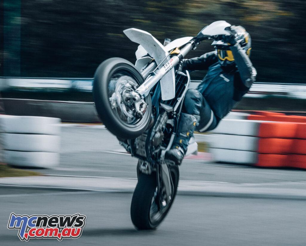 WP provide the XACT suspension on the 2022 Husqvarna FS 450