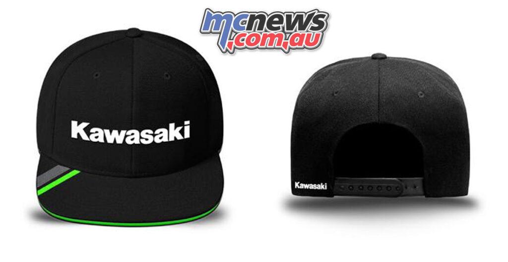 Kawasaki Holeshot Cap