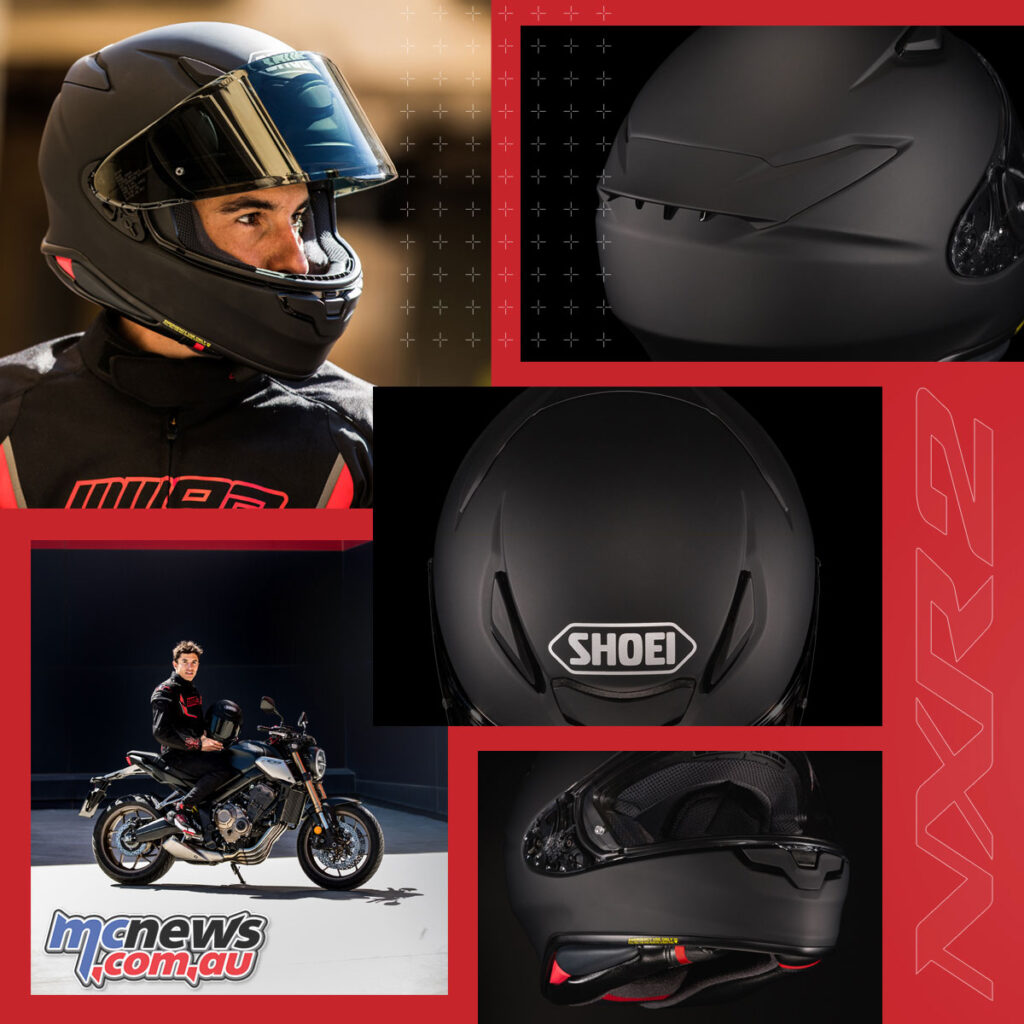 The NXR2 benefits from a larger visor, new vents and aerodynamics
