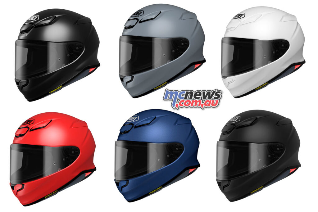A range of solid colours will eventually be available, starting with White, and Gloss and Matt Black