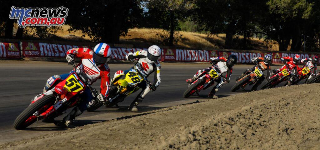 Cole Zabala in the lead - 2021 AFT Sacramento Mile II