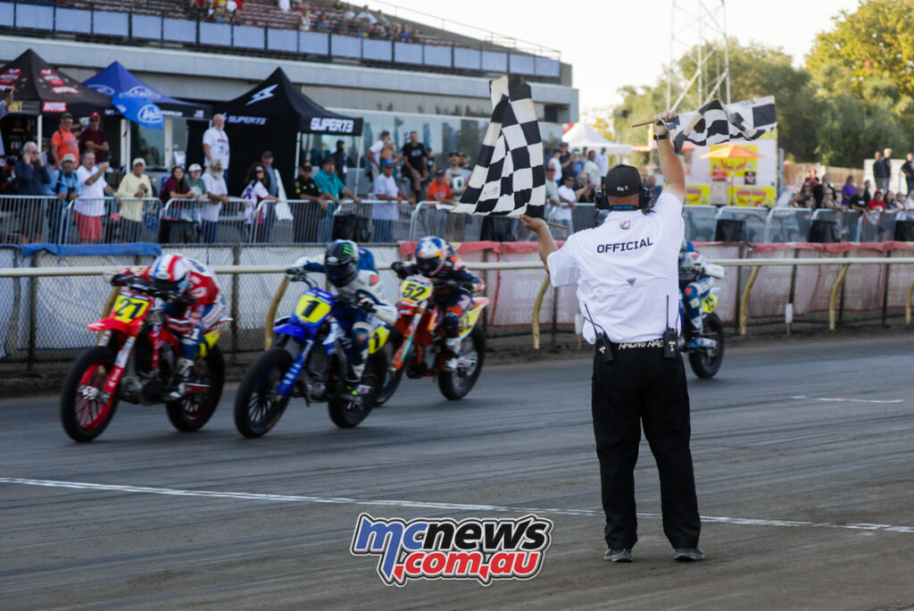 It was a close finish in the Singles class - 2021 AFT Sacramento Mile II