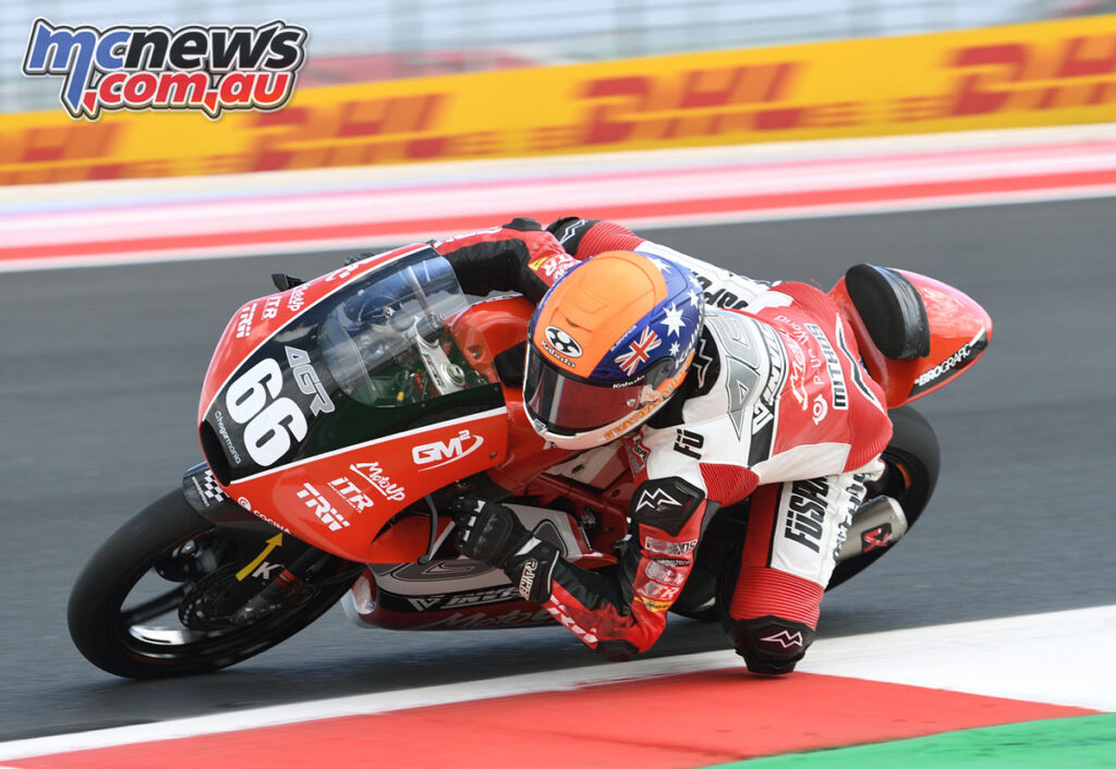 Joel Kelso - Junior Moto3 Repsol CEV Round 7 - Misano