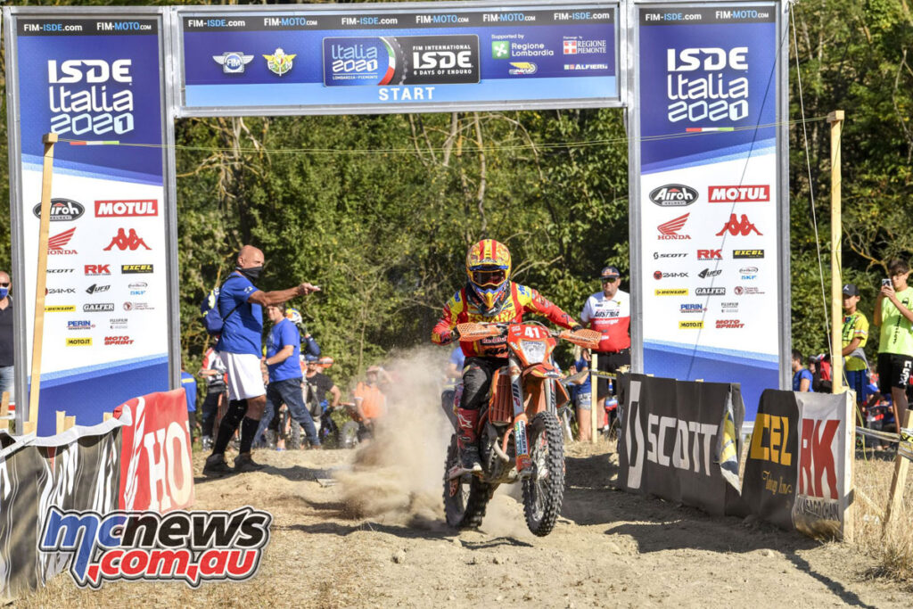 Josep Garcia went into Day 4 in the lead