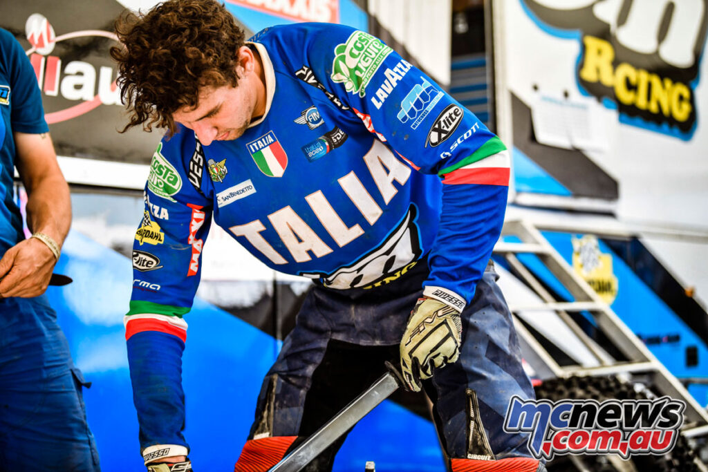 Italy set to claim the 2021 ISDE World Trophy title
